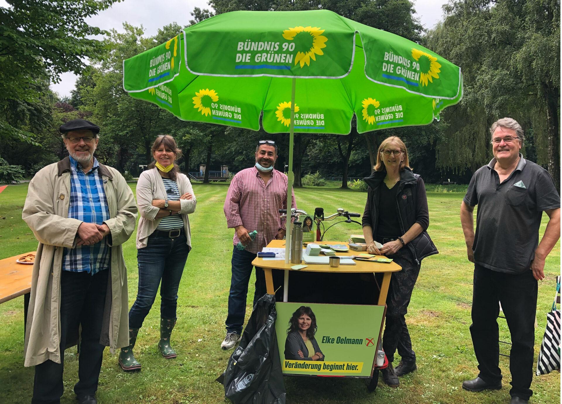 Regenpause für Interkulturelles Picknick